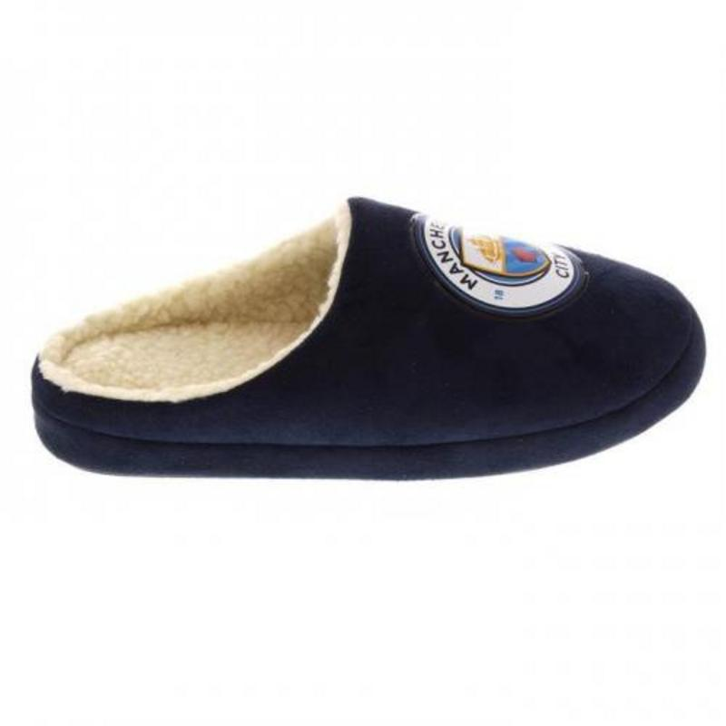 e2b6253402d  Manchester City Fc Man Mens Mules Slippers UK 11 12