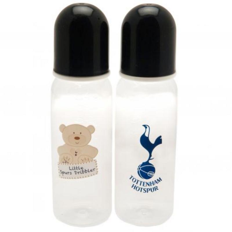 Tottenham Hotspur Fc Spurs 2 Pack Baby Feeding Bottle Bottles
