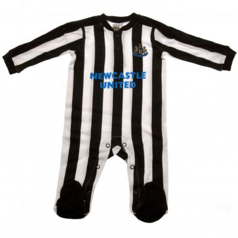 Newcastle United Fc Utd Sleepsuit Baby Kit Clothing 9-12 Months ST