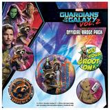 Guardians Of The Galaxy 2 Button Badge Set