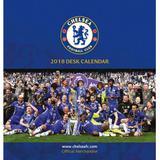 Chelsea Fc Official Team Desktop Calendar 2018