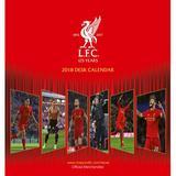 Liverpool Fc Official Team Desktop Calendar 2018