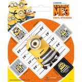 Despicable Me 3 Stickers Minions Souvenir Sticker Pack