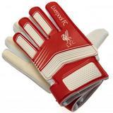 Liverpool Fc Goalkeeper Goalie Gloves Youths Kids 10-12 Years