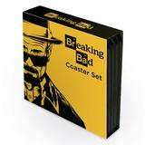 Breaking Bad Coaster Gift Set Of 4 Coasters - 9.5cm Diameter