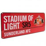 Sunderland Fc Metal Street Sign RD Red Stadium Of Light