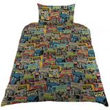 Doctor Who Dr Single Duvet Quilt Cover Set With Pillow Case