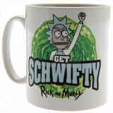 Rick And Morty Ceramic Coffee Tea Mug Official Schwifty