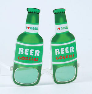 Beer Bottle Glasses Oktoberfest Stag Weekend Novelty Festival Fancy Dress