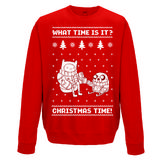 Adventure Time Crewneck Sweatshirt Jumper Christmas Time XXL