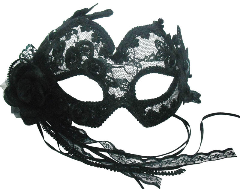Black Eye Face Mask Venetian Masquerade Ball Fancy Dress