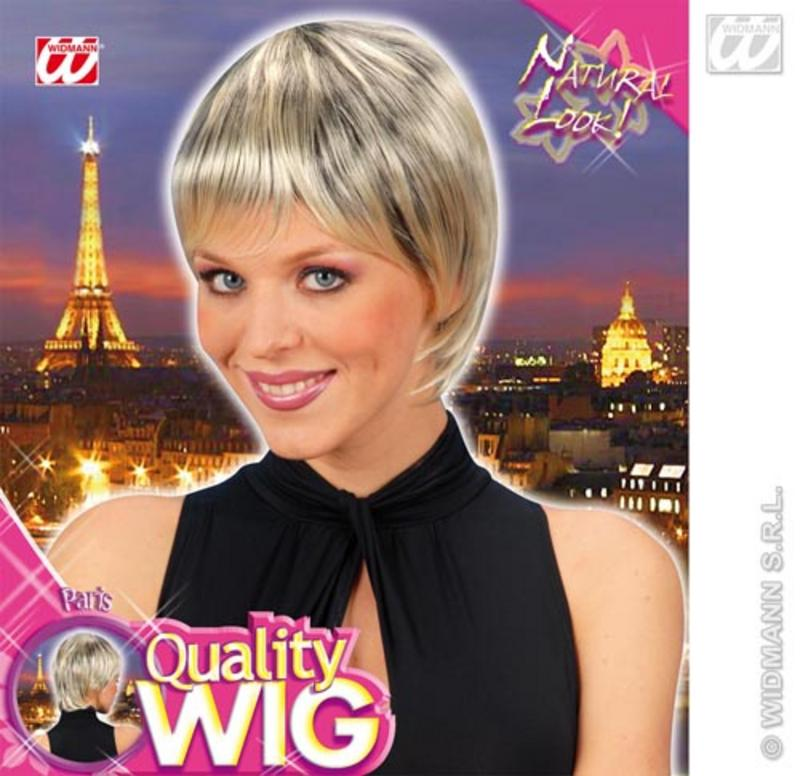 Ladies Blonde Black Short Bob Wig With Fringe Disco Sexy Fancy Dress