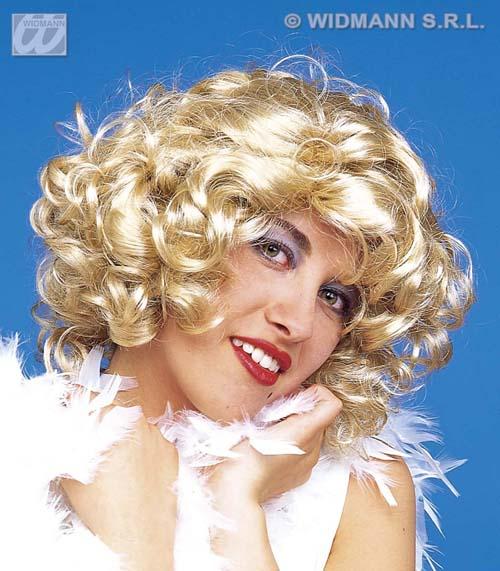 Ladies Blonde Marilyn 50s Star Wig Hollywood Movie Star Fancy Dress