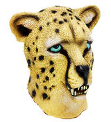 Rubber Overhead Leopard Big Cat - Animal Fancy Dress