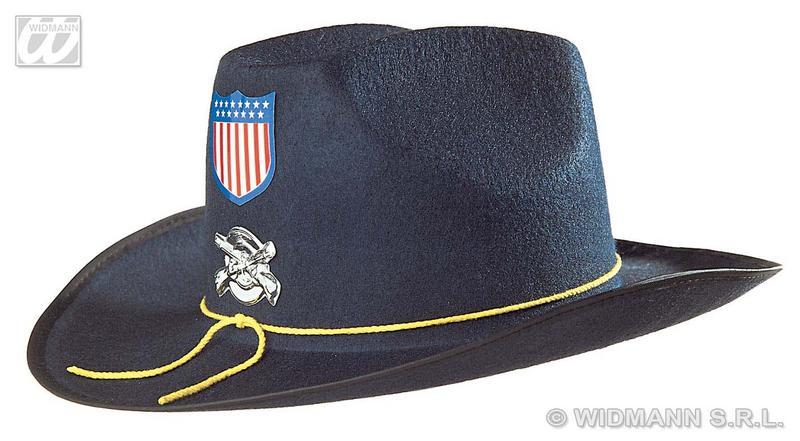 Black Childrens Union Felt Hat With Badge Top Hat Fancy Dress