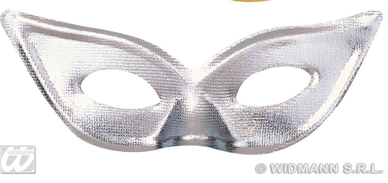 Silver Domino Eye Mask Eyemask Cat Woman Masquerade Fancy Dress
