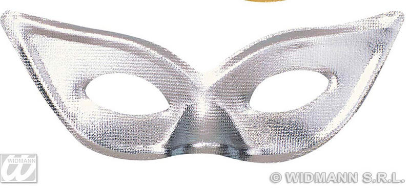 Silver Domino Eye Mask Eyemask Cat Woman Masquerade Fancy Dress