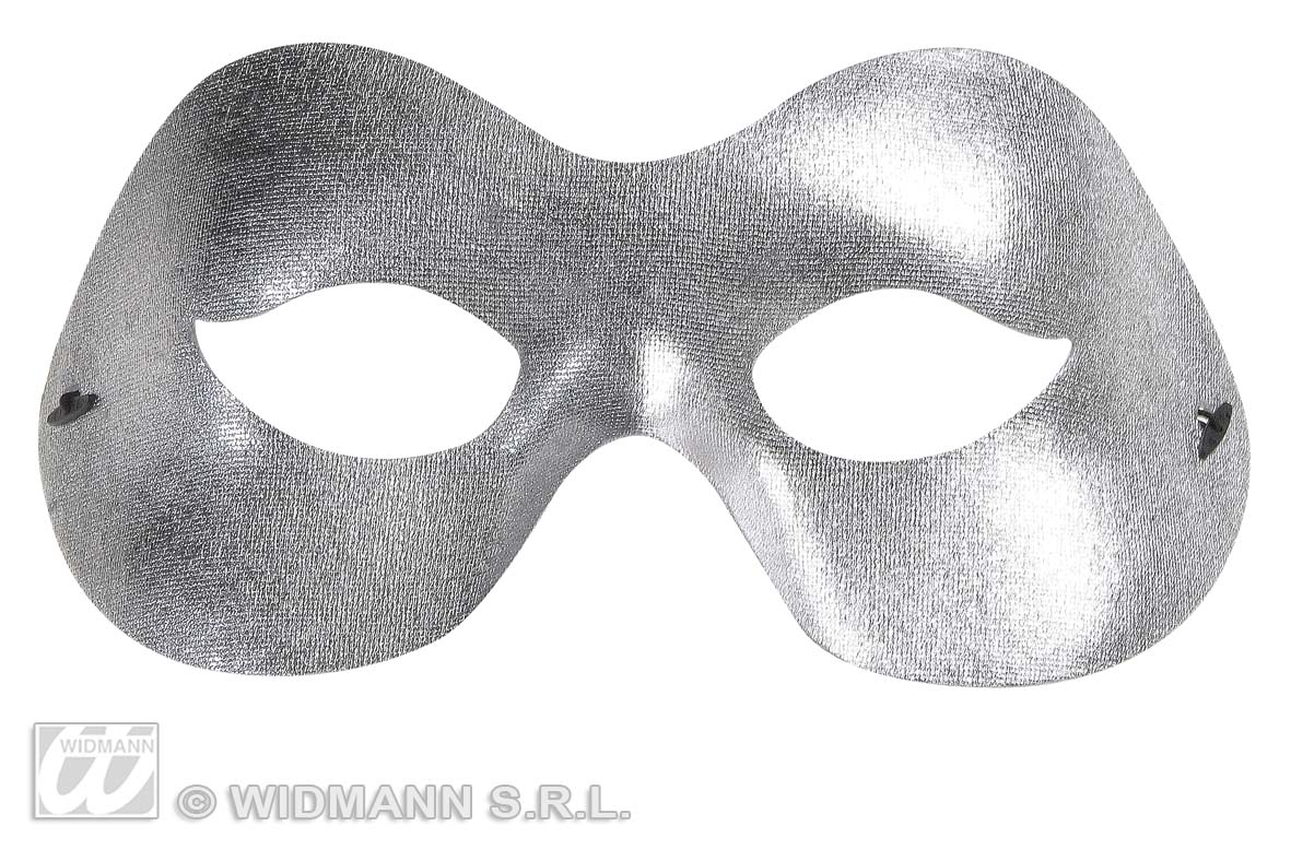 Silver Fidelion Eye Mask Eyemask Masquerade Ball Fancy Dress