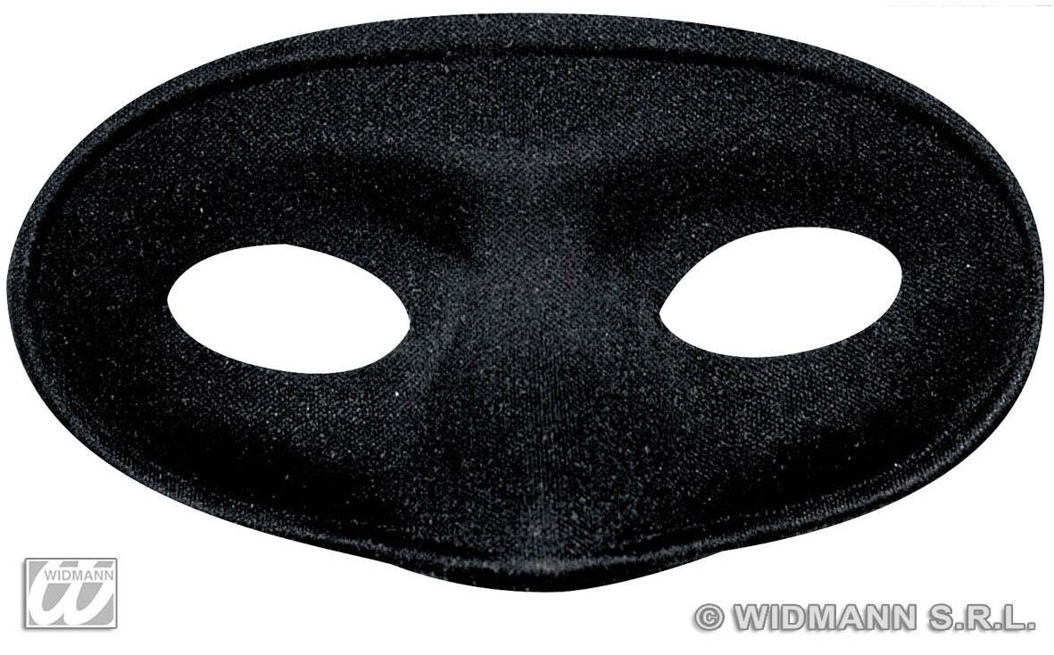 Masquerade Fancy Dress Mask Cat Plain Black Satin Zorro Eye Mask For Zorro
