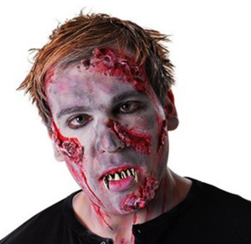 Zombie Teeth Monster Walking Licing Dead Halloween Fancy Dress