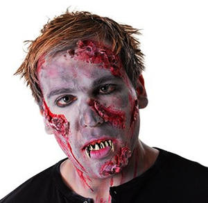 Zombie Teeth Monster Walking Licing Dead Halloween Fancy Dress