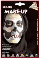 Black Make Up In Tray Face Paint Halloween Fancy Dress