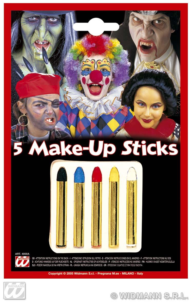 Makeup Sticks 5 Colour