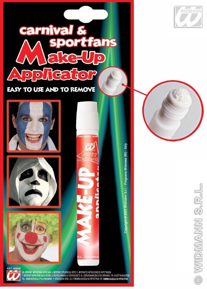 Makeup Applicator Stick White Ghost Clown Halloween Fancy Dress