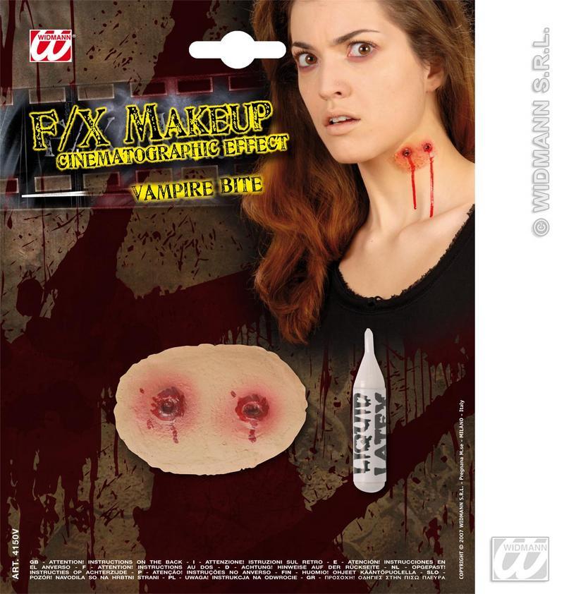 Movie Effect Vampire Bites Flesh Wound Halloween Fancy Dress