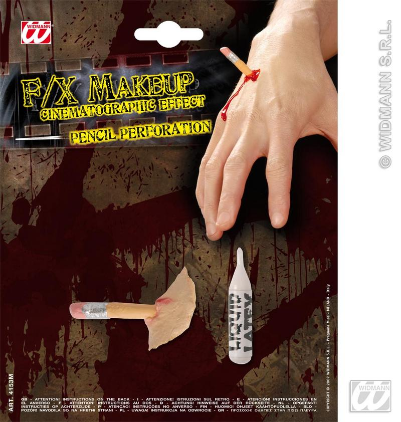 Movie Effect  Pencil Perforations Wound Halloween Fancy Dress