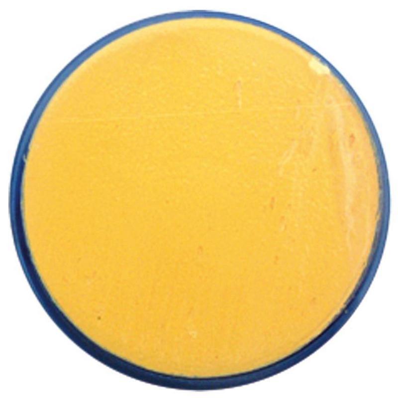 Makeup 18Ml Bright Yellow Fancy Dress Face Paint Tub Set