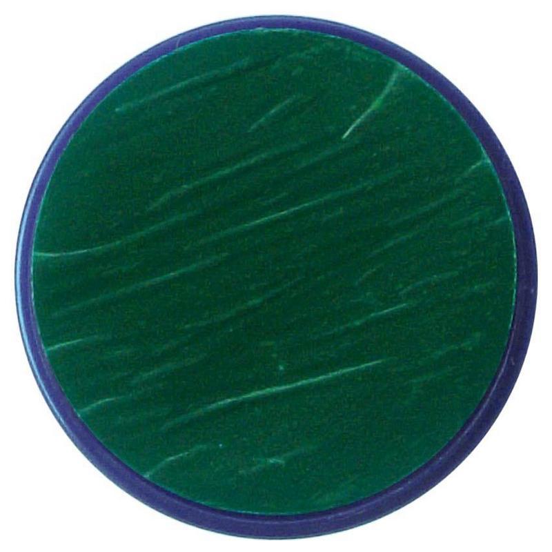 Makeup 18Ml Dark Green Fancy Dress Face Paint Tub Set