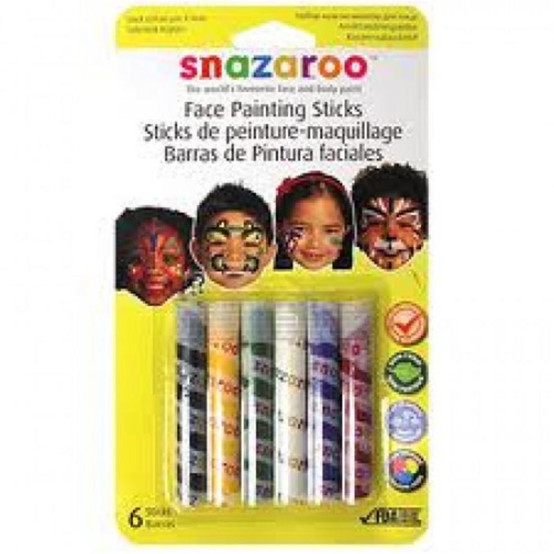 Face Painting Sticks Unisex  Face Paint Make Up Fancy Dress