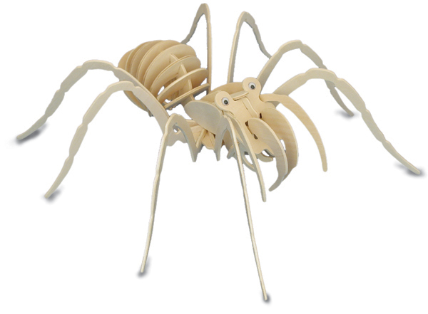 Tarantula Spider 3d Wooden Modelling Kit Model Jigsaw