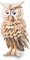 Owl 3D Wooden Modelling Kit Model Jigsaw Puzzle