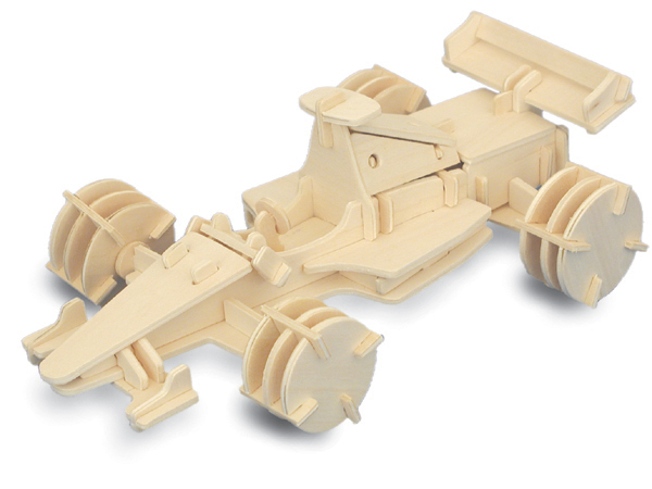 Sentinel Formula 1 Car F1 3D Wooden Modelling Kit Model Jigsaw Puzzle