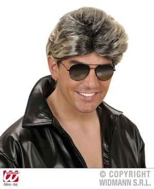 George Michael Wig 1980S Pop Star Wham Mullet Fancy Dress