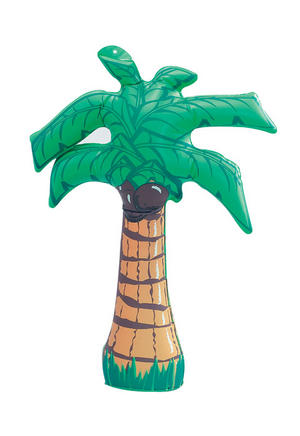 "18"" Inflatable Palm Tree Beach Party Hawaiian Fancy Dress Accessory"