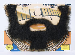 B A Baracus Bear Mr T A Team Fancy Dress Facial Hair
