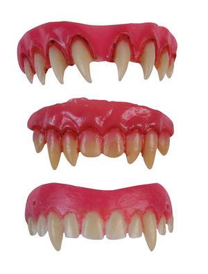 Vampire Teeth Dental Veneers Fangs Vampiress Dracula Halloween Fancy Dress