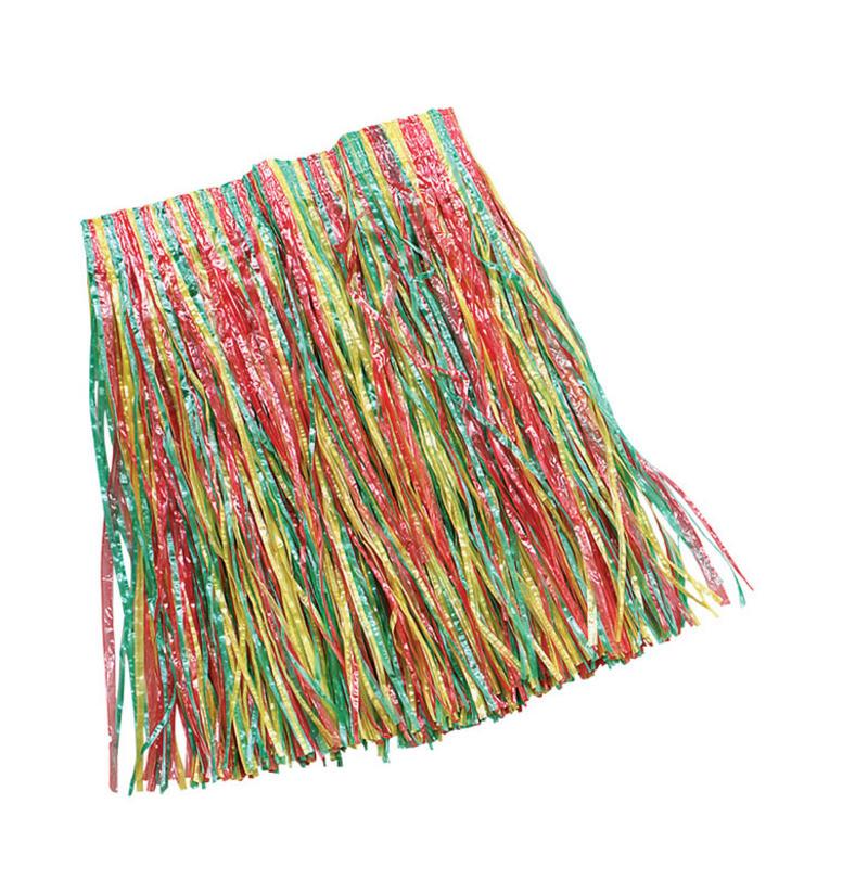 Childrens Grass Skirt Hawaiian Hula Girl Tropical Beach Party  Fancy Dress