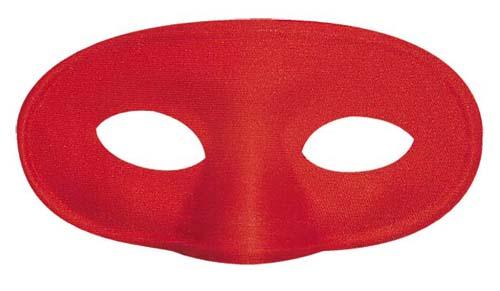 Red Eyemask Eye Mask Masquerade Ball Halloween Fancy Dress