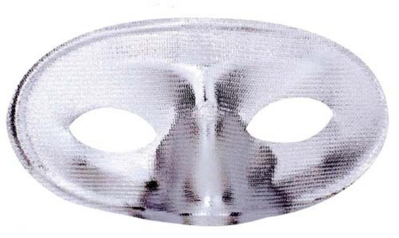 Silver Regal Eye Mask Eyemask Masquerade Ball Party Fancy Dress