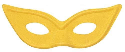 Yellow Butterfly Style Eye Mask Eyemask Masquerade Ball Party Fancy Dress