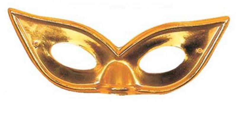 Gold Metallic Butterfly Eyemask Eye Mask Masquerade Ball Party Fancy Dress