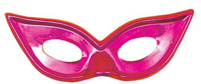 Pink Metallic Butterfly Eyemask Eye Mask Masquerade Ball Party Fancy Dress