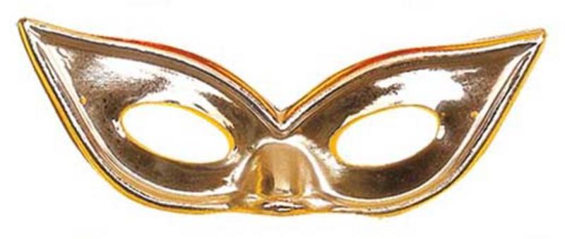 Silver Metallic Butterfly Eyemask Eye Mask Masquerade Ball Party Fancy Dress