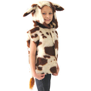 Childrens Cow Tabard Fancy Dress Costume Farm Animal Ages 3-9 Years