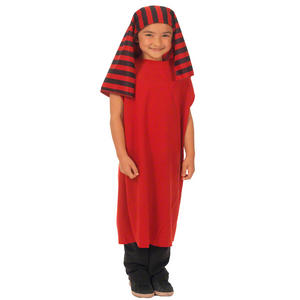 Childrens Shepherd Inn Keeper Red Black Fancy Dress Costume 3-9 Years