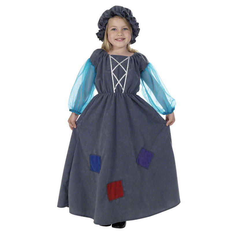 Childrens Cinderella Princess Fancy Dress Costume Fairy Tale Outfit 128Cm 6-8 Years
